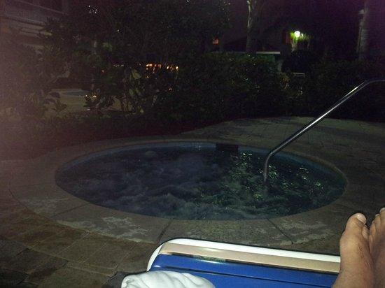 Holiday Inn Express Hotel and Suites Orlando-Lake Buena Vista South: Spa aquecido
