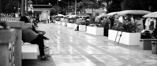 Kantary Bay, Phuket: Daily food market outside the hotel