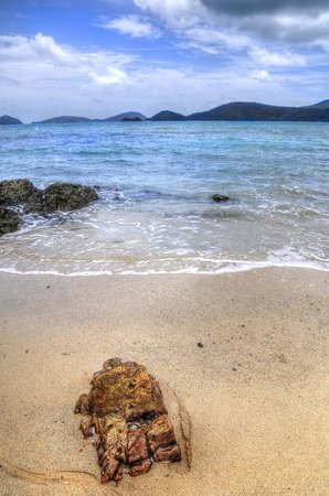 Kantary Bay, Phuket: Beach at the end of the road