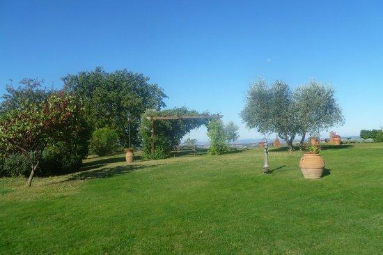 Casale Giacomini: giardino