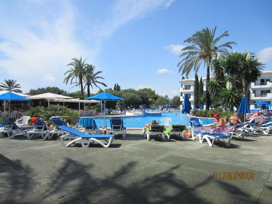 Inturotel Cala Azul Garden: Hotelpool