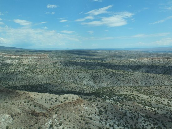 Southwest Safaris: NM landscape... from the air!