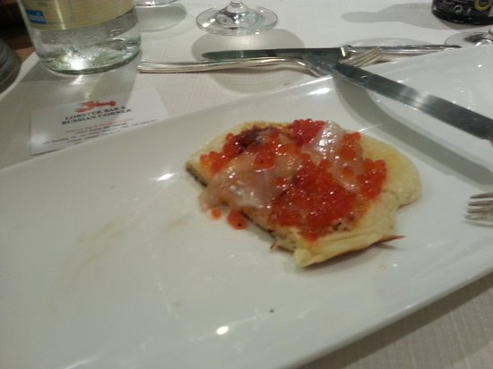 Lobster Russian Corner : Blinis!