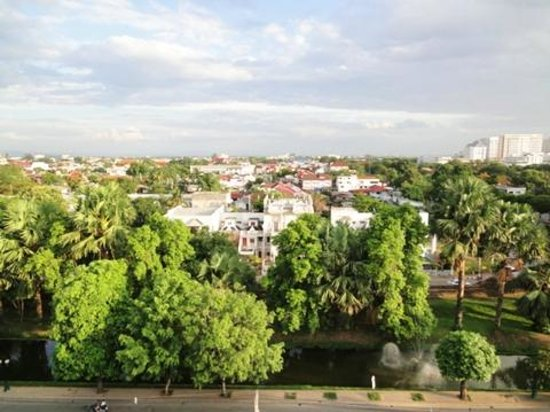 Chiang Mai Residence: 屋上からの眺め