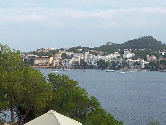 Blick auf s hotel ber die bucht picture of iberostar for Jardin del sol santa ponsa