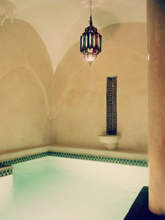 Riad Dar Dialkoum: Pool (which is big enough to have a mini-swim in!)