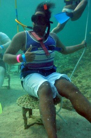 Ocean Adventures Bavaro Splash : Underwater video available for $35