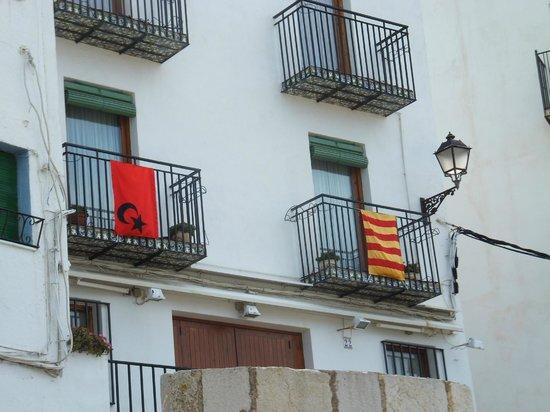 Hostal Tematico El Penon : Балкон