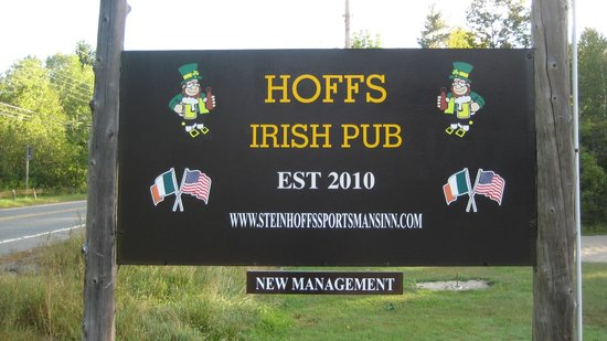 Steinhoff's Sportsmans Inn: Irish Pub  kind of