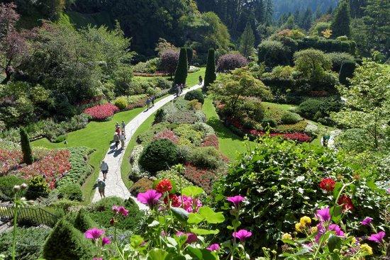 Brentwood Bay Resort & Spa : Butchart Gardens