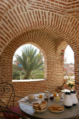 Riad Samsara: roof terrace