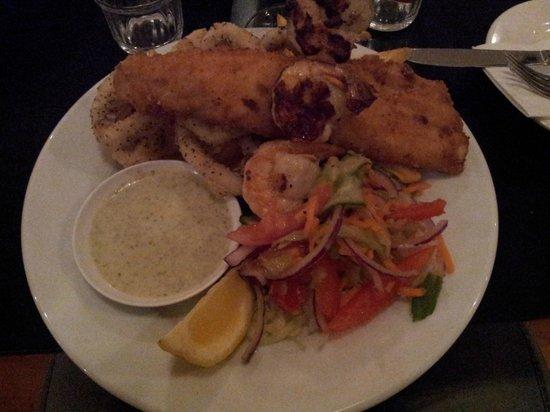 Penneshaw Pub Pty Ltd : sample of fried calamari