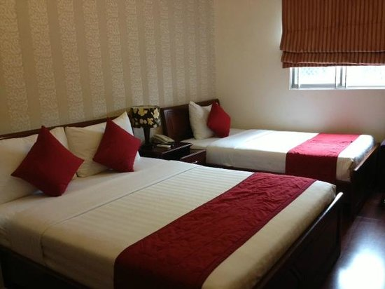 Asian Ruby Central Hotel : Triple Room