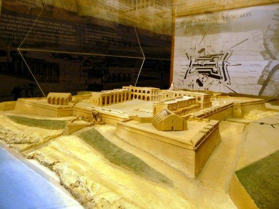 Fortifications Interpretation Centre - Fortifications Interpretation Centre: Model of Fort Manoel