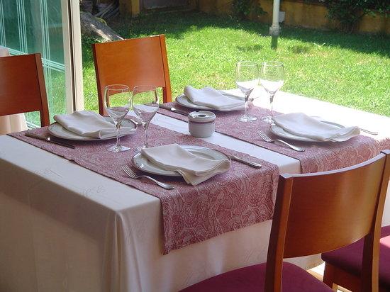Restaurant Buganvilia: La terraza interior