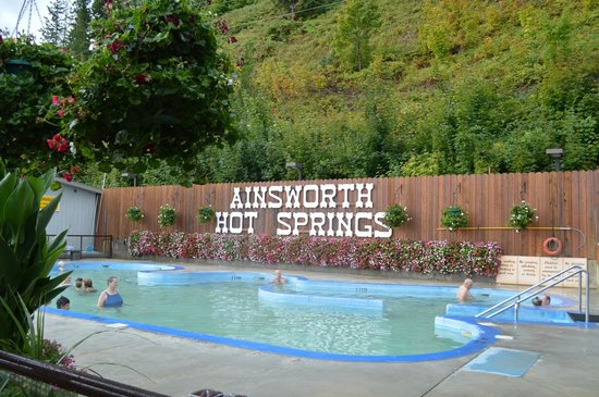 Ainsworth Hot Springs Resort Hotsprings