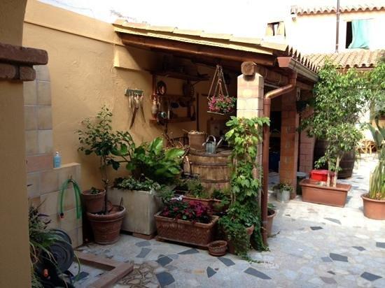 B&B La Casa di Nonna Peppina : giardino