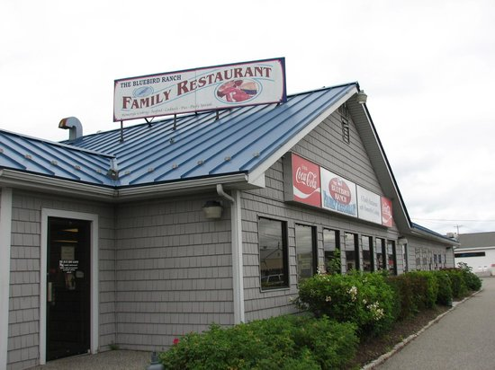 The Blue Bird Ranch Restaurant: on Highway 1, just east of town