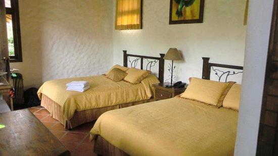Casa Luna Hotel & Spa : Enfrente  tienes tv