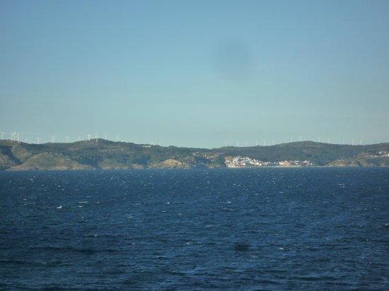 Hostal Bahia: Vista izquierda desde la habitación
