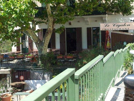 Restaurant Le Cigalon : vue sur le restaurant