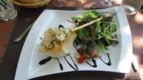 Restaurant Le Cigalon : un des plats