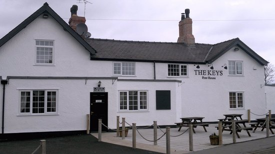 THIS IS THE FRONT OF THE KEYS ST MARTINS
