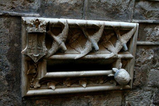 Ciutat Vella: la buca delle lettere