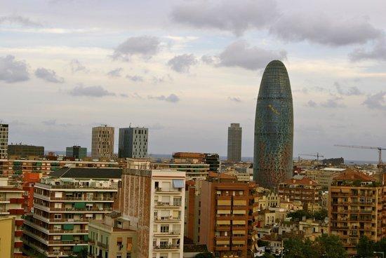 Catalonia Atenas Hotel: вид с крыши отеля