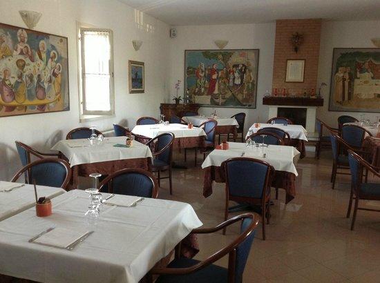 Locanda del Passo Pomposa: sala ristorante