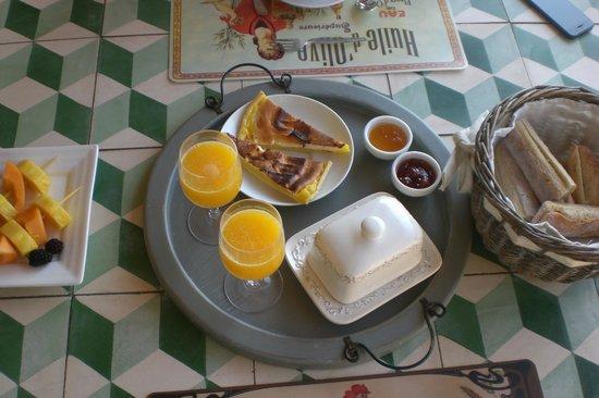 Le Mazet : Homemade breakfast