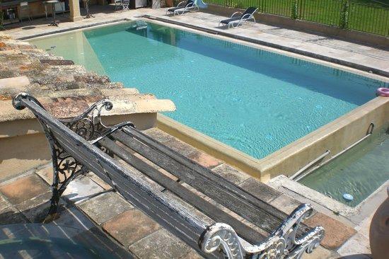 Le Mazet : Pool view