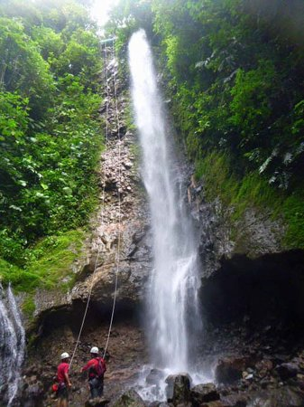 Arenal Springs Resort and Spa: Water Rappelling
