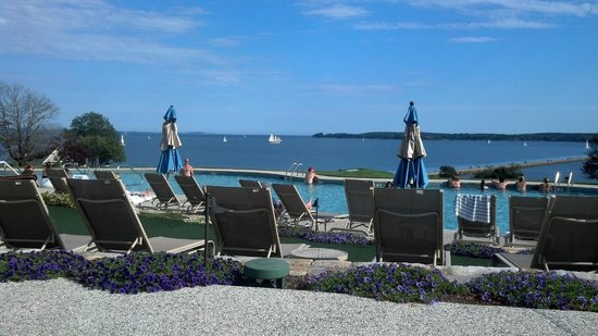Samoset Resort On The Ocean : view from pool deck