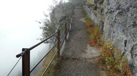 Restaurant Pfingstegg: Trail from Pfingstegg to Marmorbruch