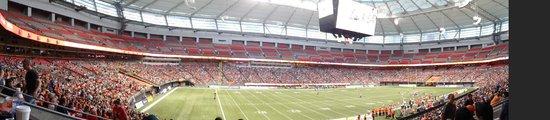 B.C. Place Stadium: Panorama of the stadium