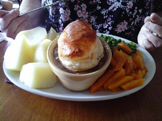 Amroth Arms Restuarant: Lovely food and lots to eat.