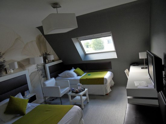Quality Hotel La Marebaudiere Vannes : Interior room 202