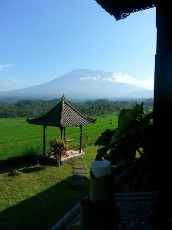 Great Mountain Views Villa Resort: La vue superbe sur le Gunung Agung