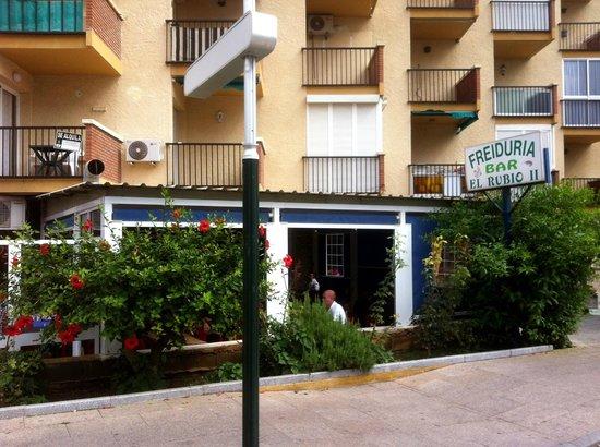 Bar El Rubio II - exterior