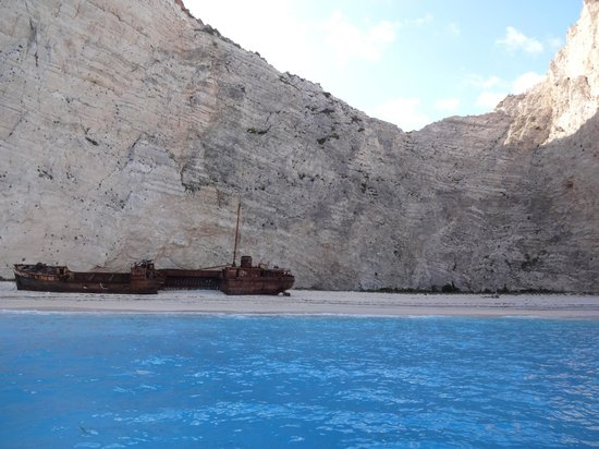 Levante Speedboat Excursions: Wrak statku