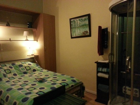 Residence Marie-Therese : believr or not: shower cabin in the room:(