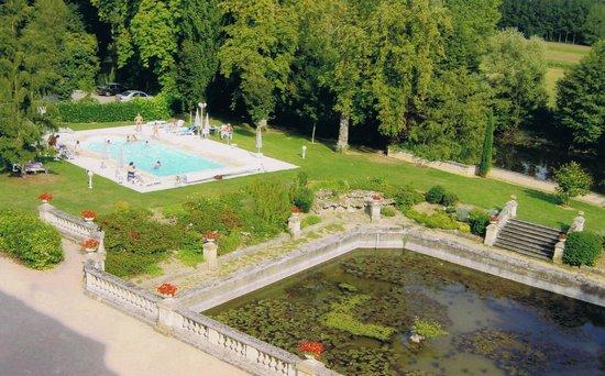 le chateau du clos de la ribaudiere : clos de la ribaudier - pond & pool