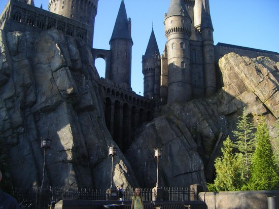 The Wizarding World of Harry Potter: amazing architecture