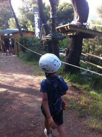 Parco Avventura Solleone : percorso blu