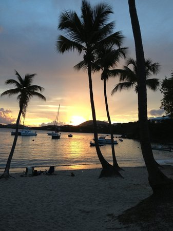 Secret Harbour Beach Resort: View from the beach