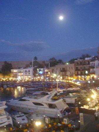 Carob Ristorante Italiano: The view from the balcony
