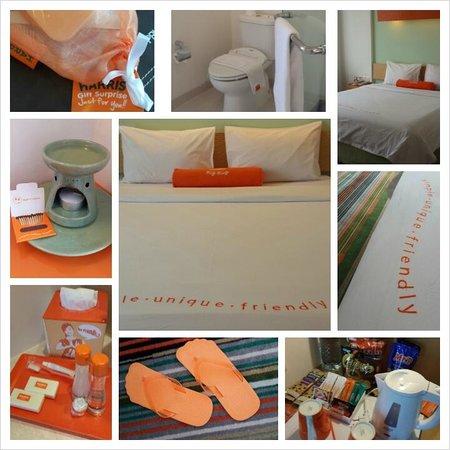 HARRIS Suites FX Sudirman: Orange.. Orange.. Orange!