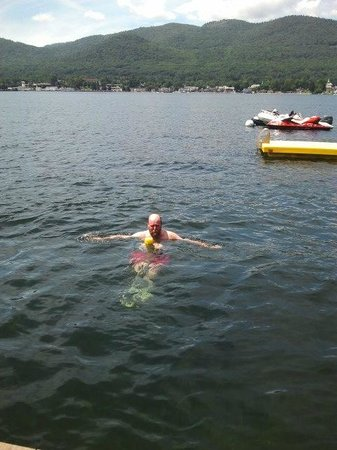 If you go to Lake George. Go for a Swim!
