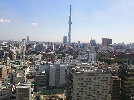 Asakusa View Hotel : 眺望